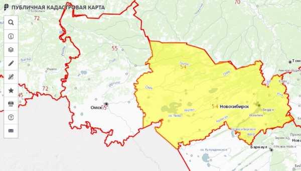 Кадастровая карта краснодара с улицами и домами